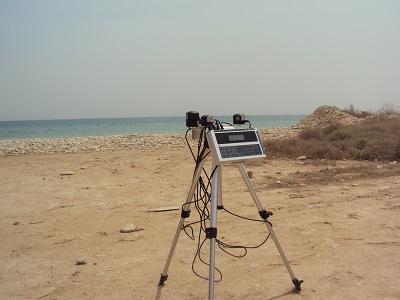 اندازه گیری کیفیت هوای محیطی در ساحل