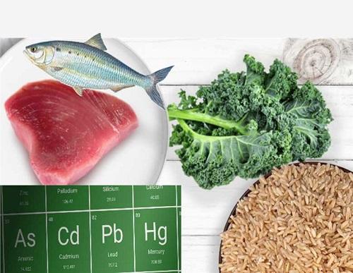 فلزات سنگین در مواد غذایی